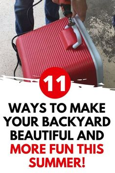 Get your kids outside with these backyard fun outdoor diy improvements and projects. Budget friendly outdoor upgrades your family can enjoy. Simple Life Hacks, Useful Life Hacks, Lounge Party, Outdoor Fun, Outdoor Spaces, Garden Types, Diy Outdoor Furniture, Cleaning Recipes, Upcycled Crafts