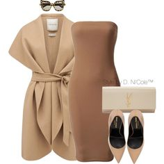 A fashion look from March 2016 featuring Forever New jackets, Yves Saint Laurent pumps and Yves Saint Laurent clutches. Browse and shop related looks. Classy Outfits, Stylish Outfits, Cute Outfits, Fashion Outfits, Womens Fashion, Fashion Trends, Polyvore Outfits, Polyvore Fashion, Complete Outfits