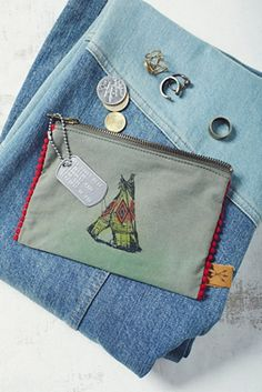 All Souls Mercantile Catch It All Pouch at Free People Clothing Boutique