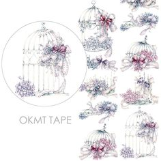Find More Office Adhesive Tape Information about Flower Cage Masking Tape Washi Tapes Scrapbooking Stickers Papeleria Washitape,High Quality washi tape,China masking tape washi Suppliers, Cheap masking tape from V1 Store on Aliexpress.com