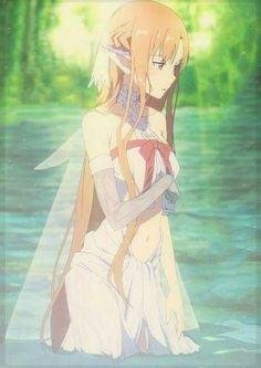 Asuna looks adorable