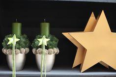 Weihnachtliche Gesteck-Ideen Teil II (mehr sehen) - Fachgroßhandel für Floristikbedarf, Deko & Wohnaccessoires