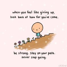 Stay on your path Cute Inspirational Quotes, Cute Quotes, Happy Quotes, Words Quotes, Positive Quotes, Motivational Quotes, Qoutes, Vinyl Quotes, Sayings
