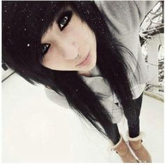 15 Cute Emo Hairstyles For Girls 2019 : Best Emo Hairstyle Emo hairstyles are obsessively popular among the young generations. But getting an emo hairstyle is not so easy they way you think. Because there is matter of suit as all hairstyles does not suit Emo Scene Hair, Emo Hair, Scene Bangs, Black Scene Hair, Scene Girl Hair, Long Scene Hair, Indie Hair, Long Hair, All Hairstyles