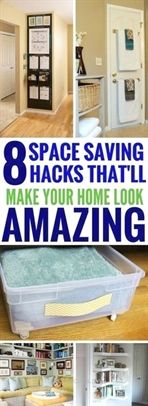 Nice Organization Tips For Small Spaces – The BEST hacks and tips that shows you how to make the most out of small spaces. Really great home decor ideas!  The post  Organization Tips For Small Spaces – The BEST hacks and tips that shows you how …  appeared first on  Hom ..