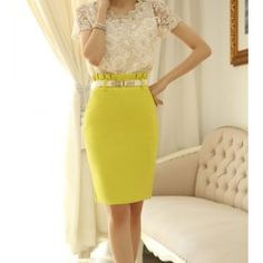 Lace and Yellow