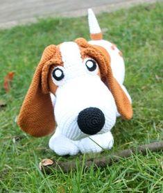 Snoopy der Beagle Häkelanleitung