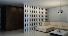Форма для изготовления 3D блока 002