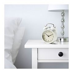 DEKAD Despertador, blanco - IKEA