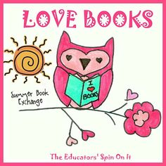 Look for Reading Activities for the Summer? Do your children love getting mail? Sign up  by June 1 for the Love Books: Summer Reading Book & Activity Exchange for your blog!