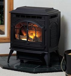 Pellet stoves--an eco-friendly alternative to wood burning.