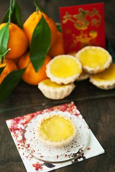 chinese egg custard tarts recipe | use real butter