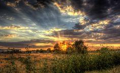 Beautiful sunset in #GilbertAZ.