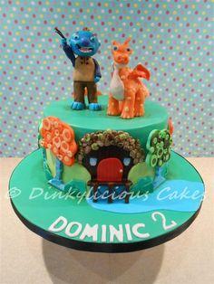 Wallykazam - Cake by Dinkylicious Cakes