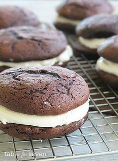 Whoopie Pies Recipe Chocolate Whoopie Pies Duncan
