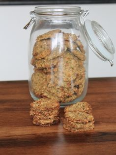 Juice Pulp Dog Treat Recipe - Grounded Nutrition.  Just what Sophie, Max, Hotch, and Barkley need!!!