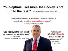 """Joe Hockey is the best friend big business tax avoiders have."" - John Passant, ex-Asst Commissioner ATO. #auspol"