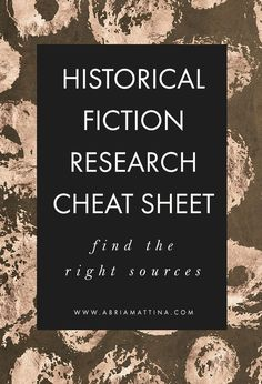 Get my Top 10 Resources for Historical Fiction Authors, and learn how to find & evaluate the key sources you need to bring your writing to life.