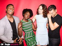 Disney's D23 Expo 2015   John Boyega, Lupita Nyong'o, Daisy Ridley and Oscar Isaac   EW.com