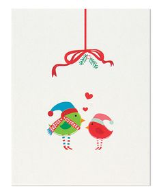 Love Birds Stationery Set by The Gift Wrap Company #zulily #zulilyfinds