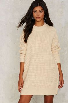 Nasty Gal Knit It Better Sweater - Ivory | Shop Clothes at Nasty Gal!