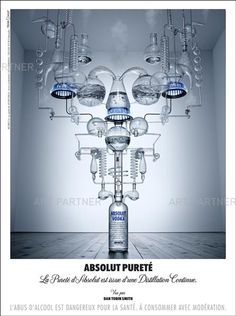 Photography by Dan Tobin Smith for Absolut Purity 2010 Absolut Vodka, Mechanical Engineering Logo, Coffee Machine Design, Chemistry Art, Marble Pictures, Showroom Interior Design, Art Partner, Pharmacy Design, Pos Display