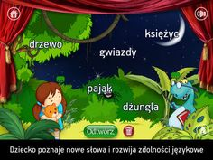 KIDDY STORY Kosmiczna Przygoda - the playful game for children to create their first stories in the Polish language. There are endless possibilities for creating new stories and thus endless possibilities to have great fun. Learn Polish, Polish Language, Language School, App Store, Games For Kids, Languages, Poland, Europe, Education