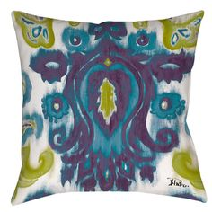 @Overstock - Radiant Transitions 19-inch Throw Pillow - You'll love the double-sided print on this pillow that has a dyed, almost Rorschach test like appearance. Whether indoor or outdoor, you'll love relaxing on this pillow that has serene style.  http://www.overstock.com/Home-Garden/Radiant-Transitions-19-inch-Throw-Pillow/9122142/product.html?CID=214117 $32.49