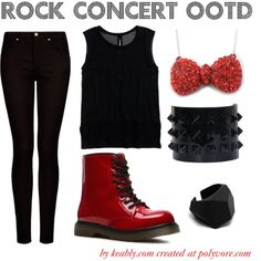 What to wear to a rock concert   Keably :: Outfit Inspiration by the Occasion