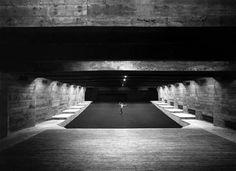 Teatro, Museu de Arte de São Paulo, arquiteta Lina Lo Bardi - Brasil por Hans Gunter Flieg