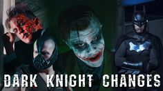 "Dark Knight Changes - One Direction ""Night Changes"" Batman Parody #geekchic"