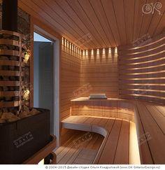 Massage Room Colors, Massage Room Design, Sauna House, Sauna Room, Jacuzzi, Sauna Lights, Indoor Sauna, Sauna Design, Spa Rooms