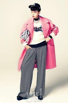 Jin Jungsun and Lee Hojung by Ahn Jiseop for Vogue Girl Korea November 2012