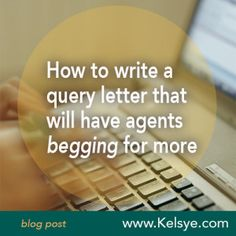 How to write a screenplay query letter to an agent