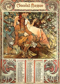 VINTAGE BLOG: Alfons Mucha 1898