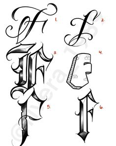"2,657 Me gusta, 34 comentarios - Luis Rivera (@rivera_1989) en Instagram: ""A few of my favorite fonts of the letter ""F"". Which one is your favorite?✍🏽🤔 #lettering…"" Cursive Tattoo Letters, Calligraphy Letters Alphabet, Cursive Tattoos, Tattoo Fonts, Graffiti Lettering Alphabet, Chicano Lettering, Graffiti Font, Tattoo Lettering Design, Tattoo Design Drawings"