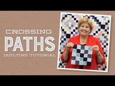 """Make a """"Nine Patch on Point"""" Quilt with Jenny - YouTube"""