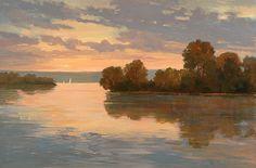 Torpedo Factory Art Center - Marietje Chamberlain: Artwork - Evening Sail