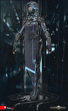 Exoskeleton suit(2) by Mihail Vasilev | CGSociety #Futuristic