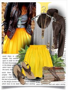 The skirt! I just can't stand how amazing this entire outfit is. Want it all!