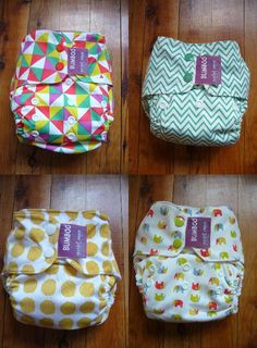 BUMBOO (AU) - Pocket Nappies // One Size pocket diaper, such cute prints!!!