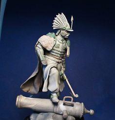 Hussar handmade figure. Sculpt for collectors