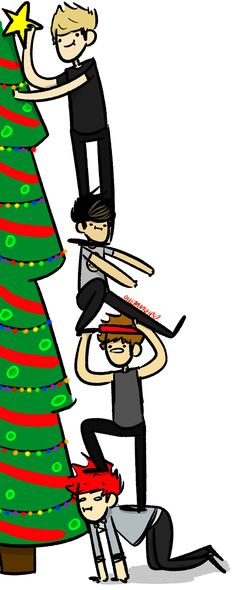 """""""decorating the tree requires the whole band"""""""