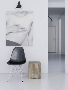 Living with art / Interior * Minimalism by LEUCHTEND GRAU http://www.leuchtend-grau.de/2014/05/inspiration-fur-die-wand.html