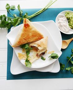 beautiful #vegan mexican phyllo wraps