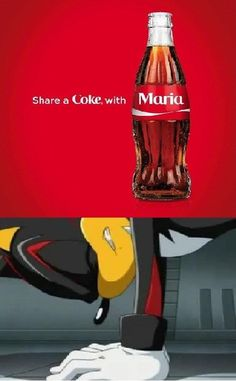 Turns out Coke can harm you mentally as well as physically. Poor Shadow!