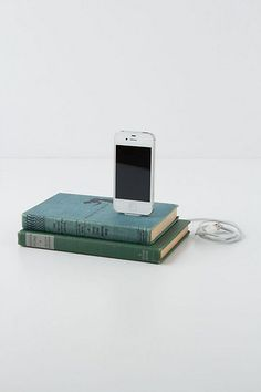 Vintage Book iPhone Charger #anthropologie