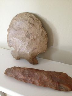 Indian Artifacts found on Home Place, Arkansas