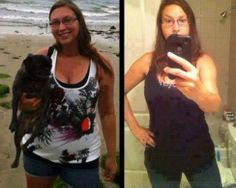 Jessica went from 192 to 143 with Skinny Fiber