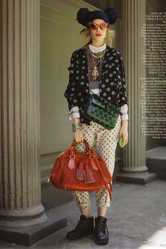 Suvi Koponen | Raymond Meier | Vogue UK August 2011 | 'StyleHunter' - 8 Style | Sensuality Living - Anne of Carversville Women's News